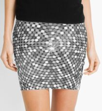 Cristal shiny disco ball  Mini Skirt