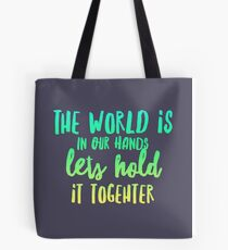 Earth Love and conservation  Tote Bag