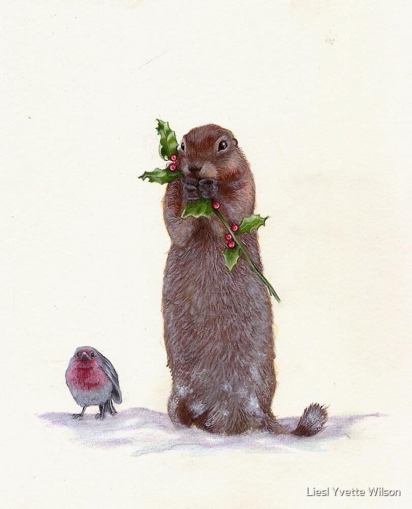 ground squirrel by Liesl Yvette Wilson