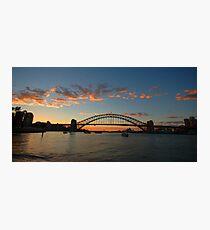 Wisps Of Day- Sydney Harbour, Sydney Australia Photographic Print
