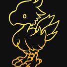 Final Fantasy - Chocobo by RikDrawsThings
