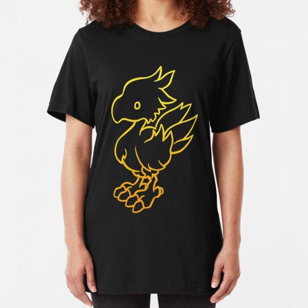Final Fantasy - Chocobo Slim Fit T-Shirt