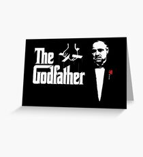 Padrino The Godfather Greeting Card