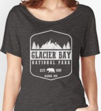 GLACIER BAY NATIONAL PARK ALASKA  Women's Relaxed Fit T-Shirt