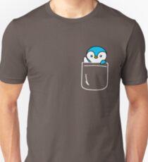 Penguin In Your Pocket Funny Emoji Gift Unisex T-Shirt
