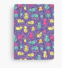 Bright cats Canvas Print