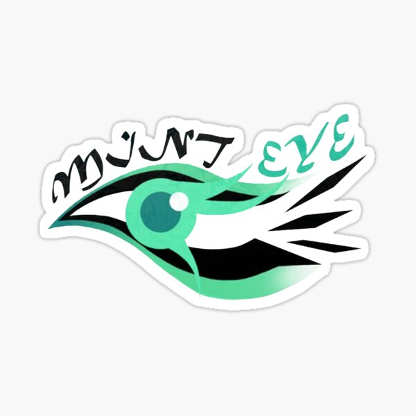 Mystic Messenger - Mint eye Pegatina