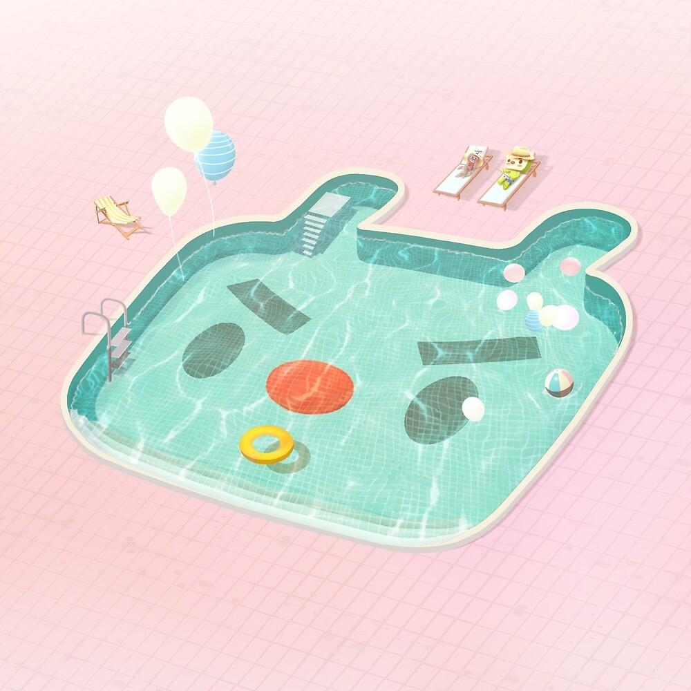 Poolday by zkozkohi