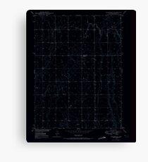 USGS TOPO Map Colorado CO Sunnydale 234659 1949 24000 Inverted Canvas Print