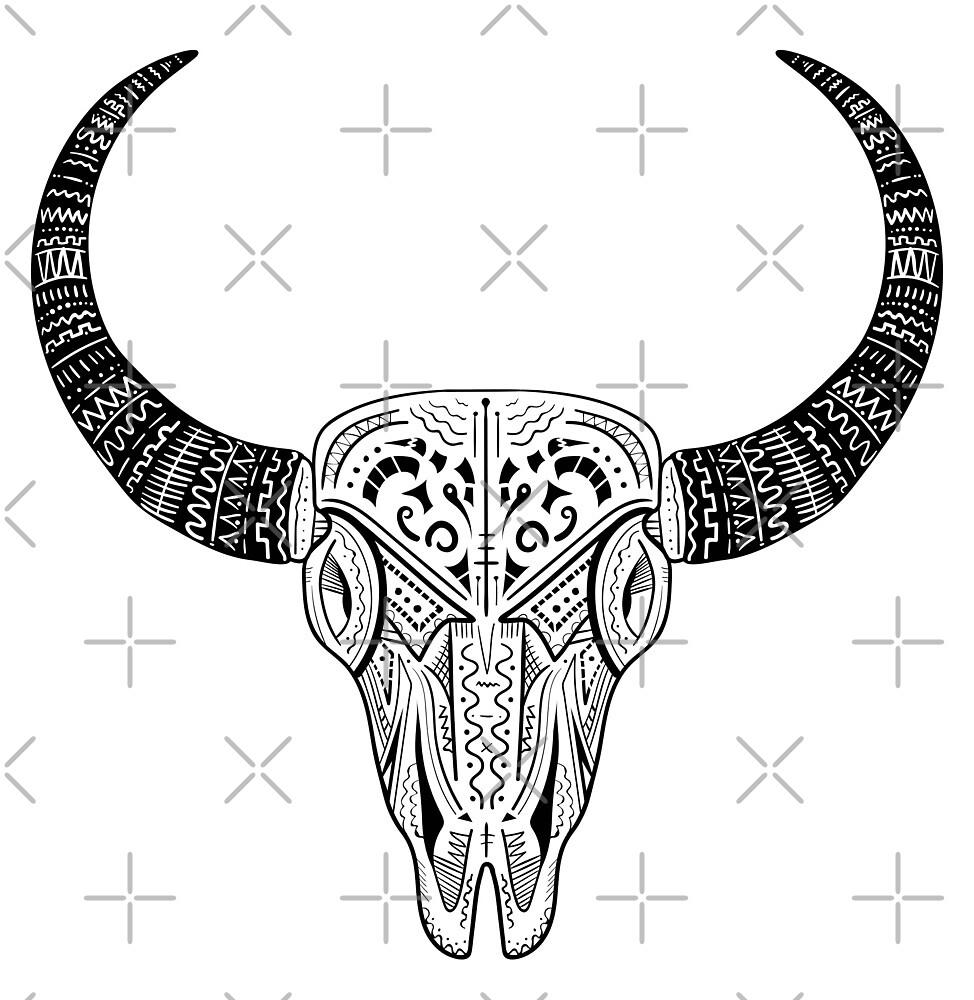 Bull Skull by Fgworks Designs