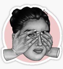 Lauren peekin Sticker