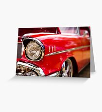 Chrome eyebrows - Belair Greeting Card
