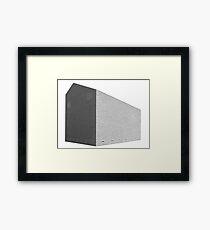 Structure in bricks Framed Print