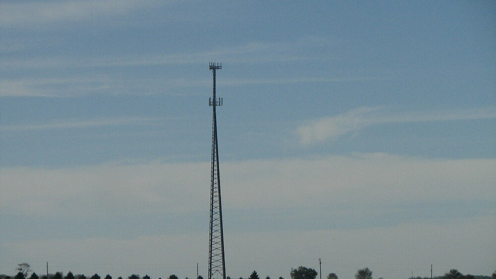 Tower in the distance by ANibbe