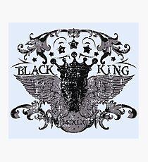 Black King Photographic Print