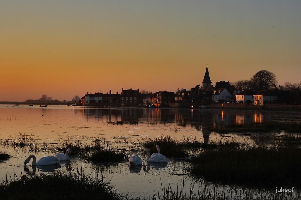 Bosham Just Before Sunset by jakeof