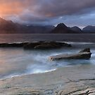 Overcast Cuillins at Sunset by Maria Gaellman