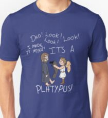 Dad, Look! It's a Platypus! Unisex T-Shirt