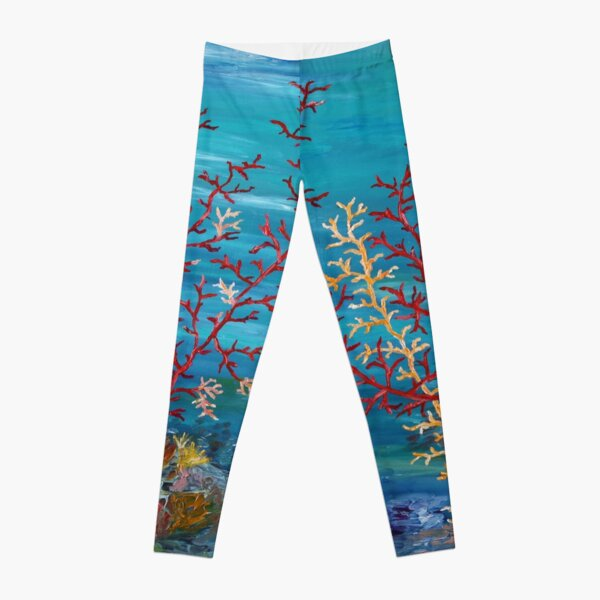 Aqua Reef Leggings