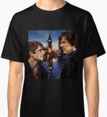 John and Sherlock in London Classic T-Shirt