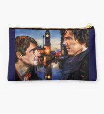 John and Sherlock in London Studio Pouch