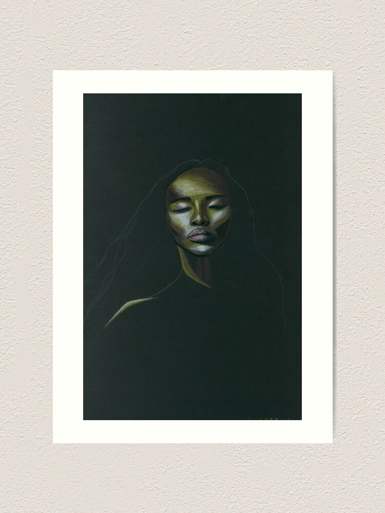 Alternate view of Naomi Art Print
