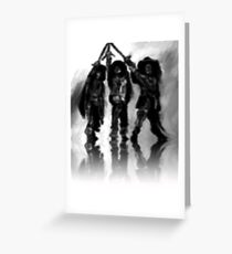 Three Musketeers Greeting Card