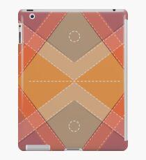 Bright ornament. Texture retro. iPad Case/Skin