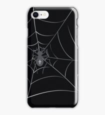 spider in web iPhone Case/Skin