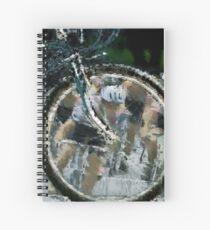Bicycle Tour en France, Giro, race Spiral Notebook