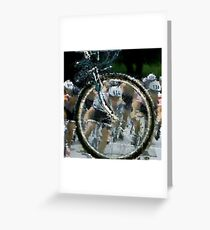 Bicycle Tour en France, Giro, race Greeting Card