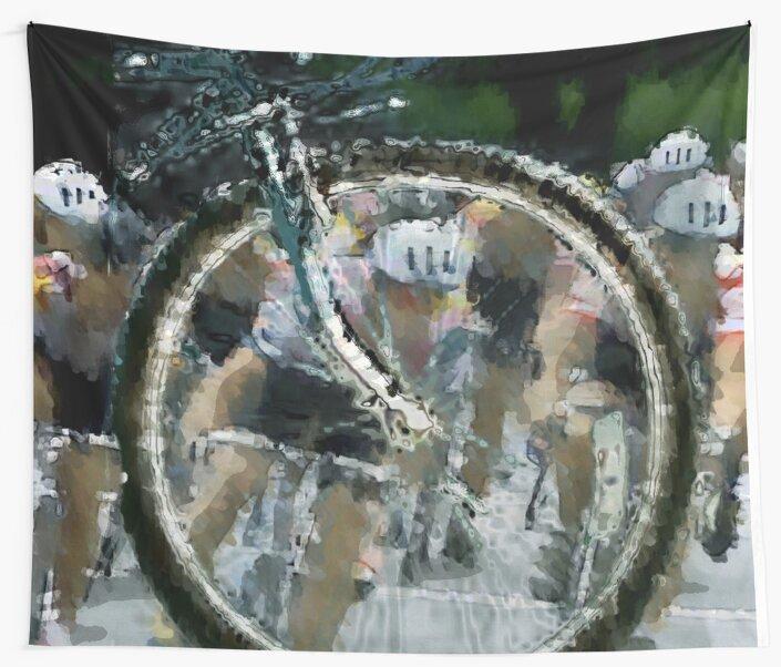 Bicycle Tour en France, Giro, race by Robert Elfferich