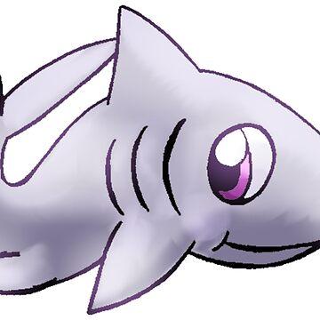 Cute Shark by SarahArundale