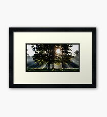 7 a.m. on the Grace Course Framed Print