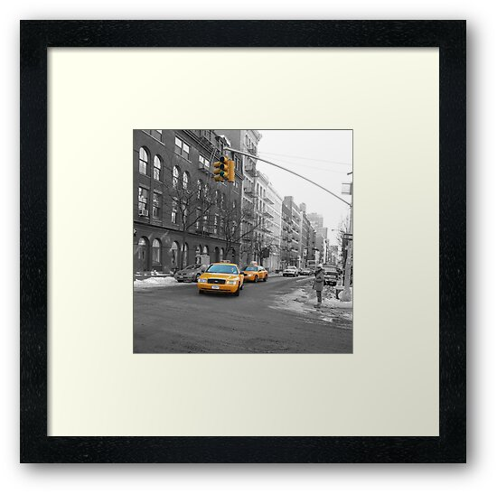 NYC Taxi by grimbomid