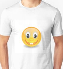 yellow smile Unisex T-Shirt