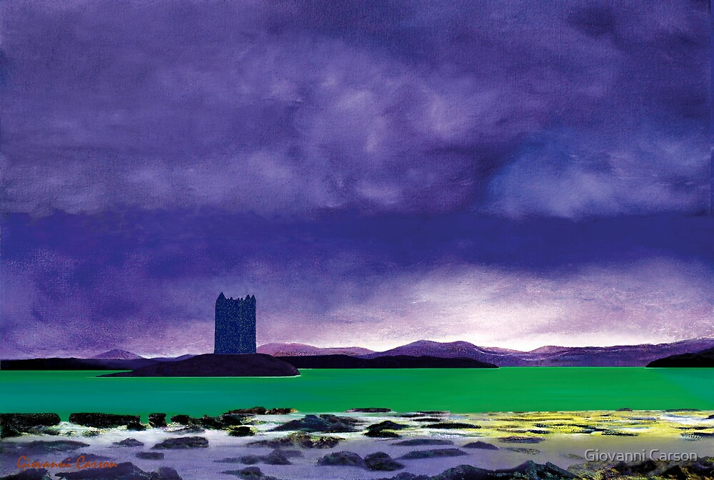 Castle Stalker by Giovanni Carson