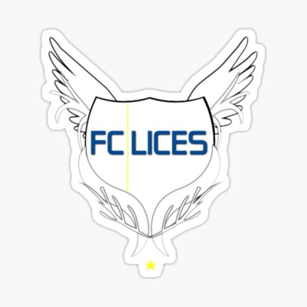 FC LICES logo du club officiel Sticker