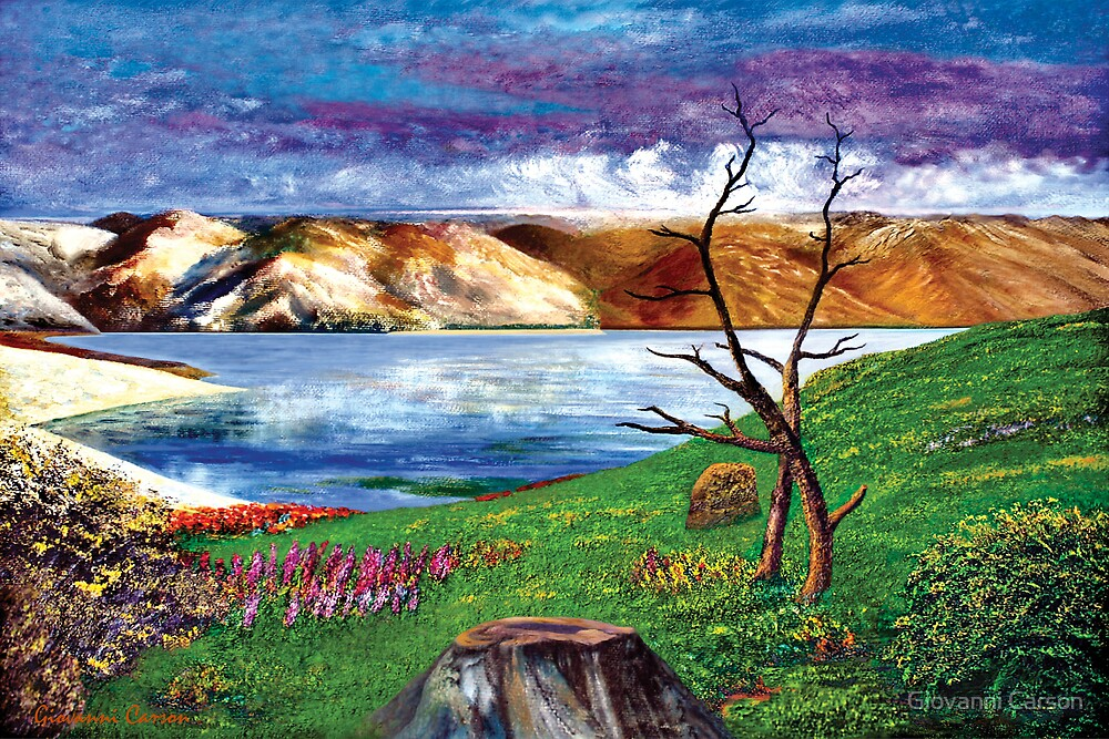 Loch Tay - Scotland by Giovanni Carson