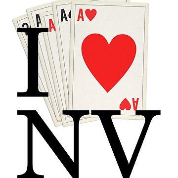 I Heart NV - I Love Nevada and Las Vegas! by andabelart