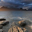 Cuillins at Sunset by Maria Gaellman