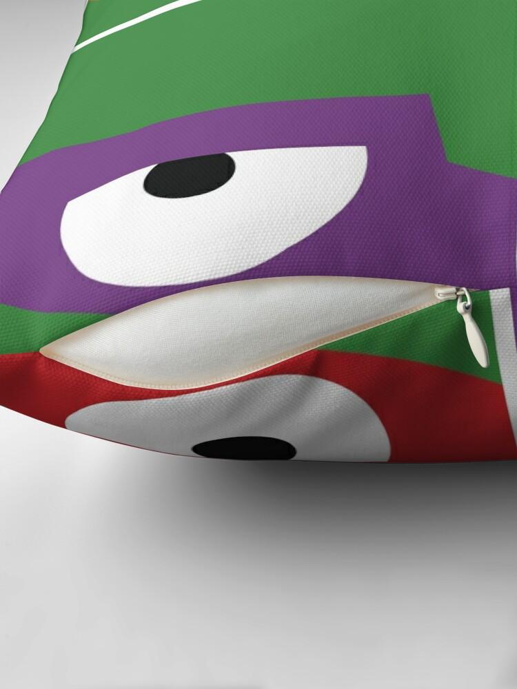 Alternative Ansicht von Ninja Turtles Cowabunga Warhol Dekokissen