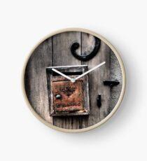 Simplistic Charm  Clock