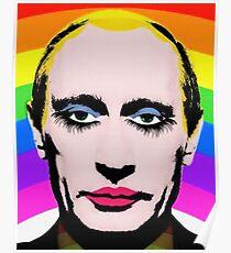 Gay Clown Putin Poster