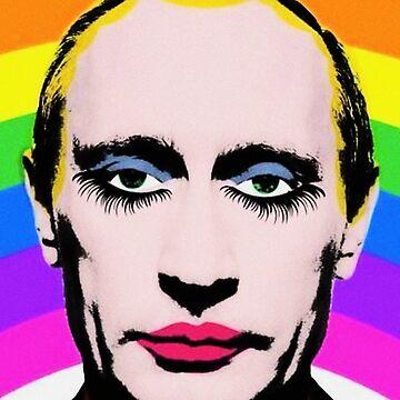 Gay Clown Putin by StrangerStore