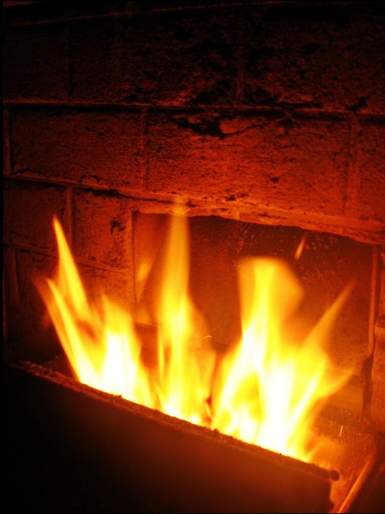 Fireplace by Tommy Seibold