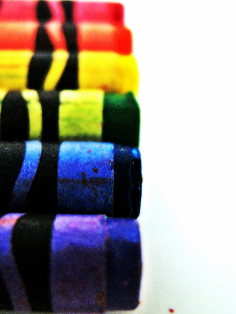 Crayon Rainbow by Tommy Seibold