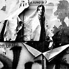 The Paper Man...Berlin by Angelika  Vogel