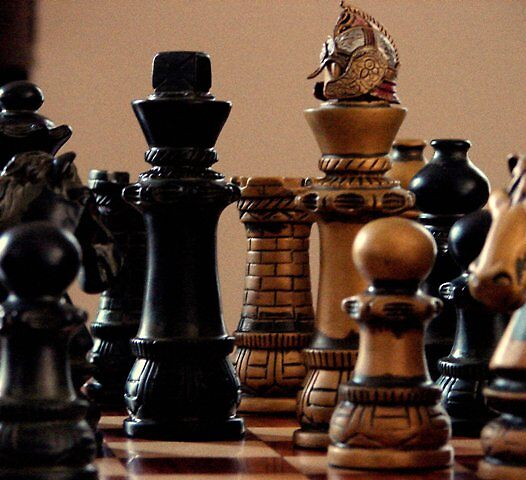 A Day In The Life Of Chess by Lisa Elea
