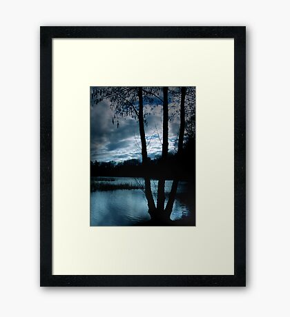 Chilled Framed Print